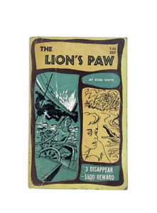 The Lion's Paw Robb White Rare Vintage 1968 Scholastic PB Illustrated T23