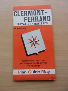 PLAN-GUIDE-BLAY-CLERMONT-FERRAND-ROYAT-CHAMALIERES