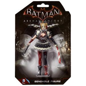 Harley-Quinn-Batman-Arkham-Knight-Bendable-Figure-DC-Super-Hero-5-5-034-Gotham