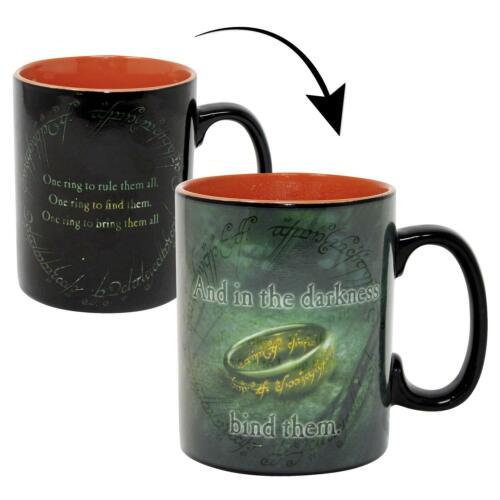 Lord of the Rings Thermoeffekt Tasse Sauron Kaffeebecher Becher Kaffeetasse Mug