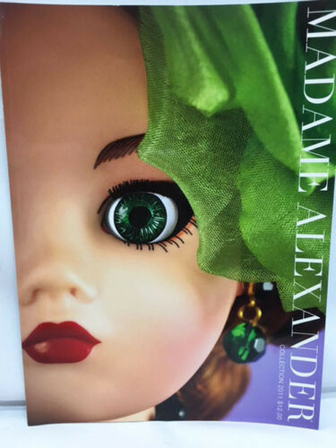 NEW 2011 Madame Alexander Doll Collection Color CATALOG
