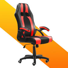 Executive Office Chair Racing Gaming Chair Ergonomic Computer Swivel Desk Seat