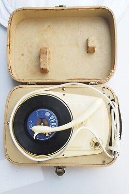 Vintage Perpetuum Ebner Gramophone Record Vinyl Player ...