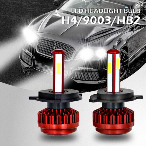 2X LED Car Headlight Kit 200W Bulbs Lamps 6000K  High Power 20000LM HID UK RLTS
