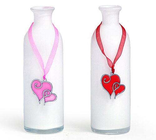 ~~ONE ACRYLIC VASE BLINGER WITH SHEER RIBBON HANGERS~~IMMEDIATE SHIPPING! 1