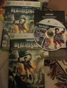 Dead Rising (Microsoft Xbox 360, 2006) Complete With Owners Manual