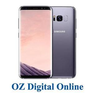 NEW-Samsung-Galaxy-S8-Plus-G955-64GB-Grey-4G-6-2-034-Unlocked-Phone-1-Year-Aus-Wty