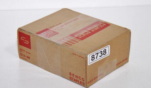 20.000 SENCO STAPLES G 3-38 10mm Klammern *8738*