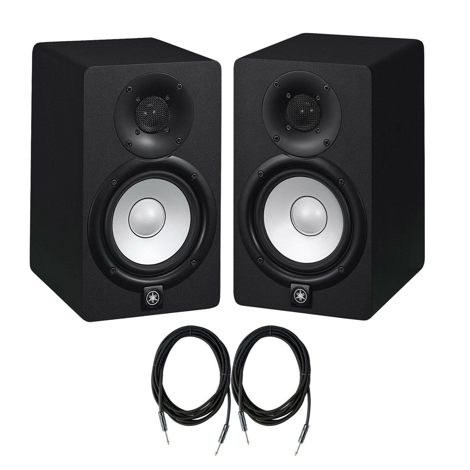Yamaha HS Series HS5 2-way Bass-Reflex Nearfield Studio Monitor-Pair with cables