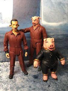 DOCTOR WHO FIGURES LAZLO SPACE PIG & PIG SLAVE BBC