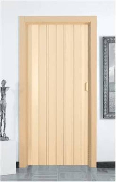 Falttüre in PVC Kunststoff B 82cm; Höhe 214 cm, Doppelwandig, Diverse Farben