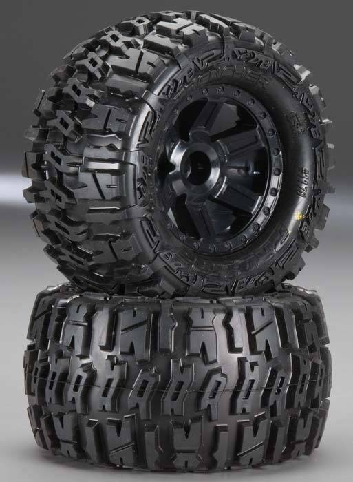 Pro-Line 1170-12 Mounted 2.8 2.8 2.8  Trencher Tires Wheels Rear (2) Stampede Jato Ru... 8ff329