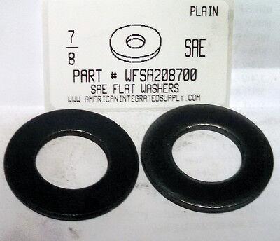 """250 #8 SAE Flat Washers 3//16/""""IDx7//16/""""OD."""