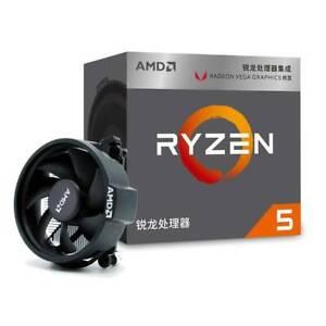 Amd Ryzen 5 R5 3400g 3 7ghz 4 Core 8 Threads Wraith Spire Cooler Cup Processor Ebay