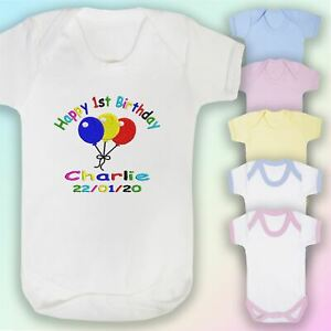 Rainbow of Hope Embroidered Baby Vest Gift Unisex Boy Girl
