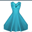 miniature 14 - Women-Retro-A-Line-Sleeveless-Prom-Party-Cocktail-V-Neck-Rockabilly-Swing-Dress