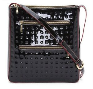 Image Is Loading Arcadia Made In Italy Patent Leather Crossbody