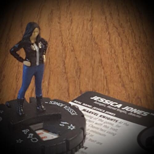 JESSICA JONES  Avengers Defenders War Heroclix RARE #038