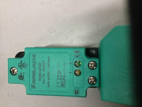 Fuchs NJ40+U1+E1 Sensor Inductivo pimientos y
