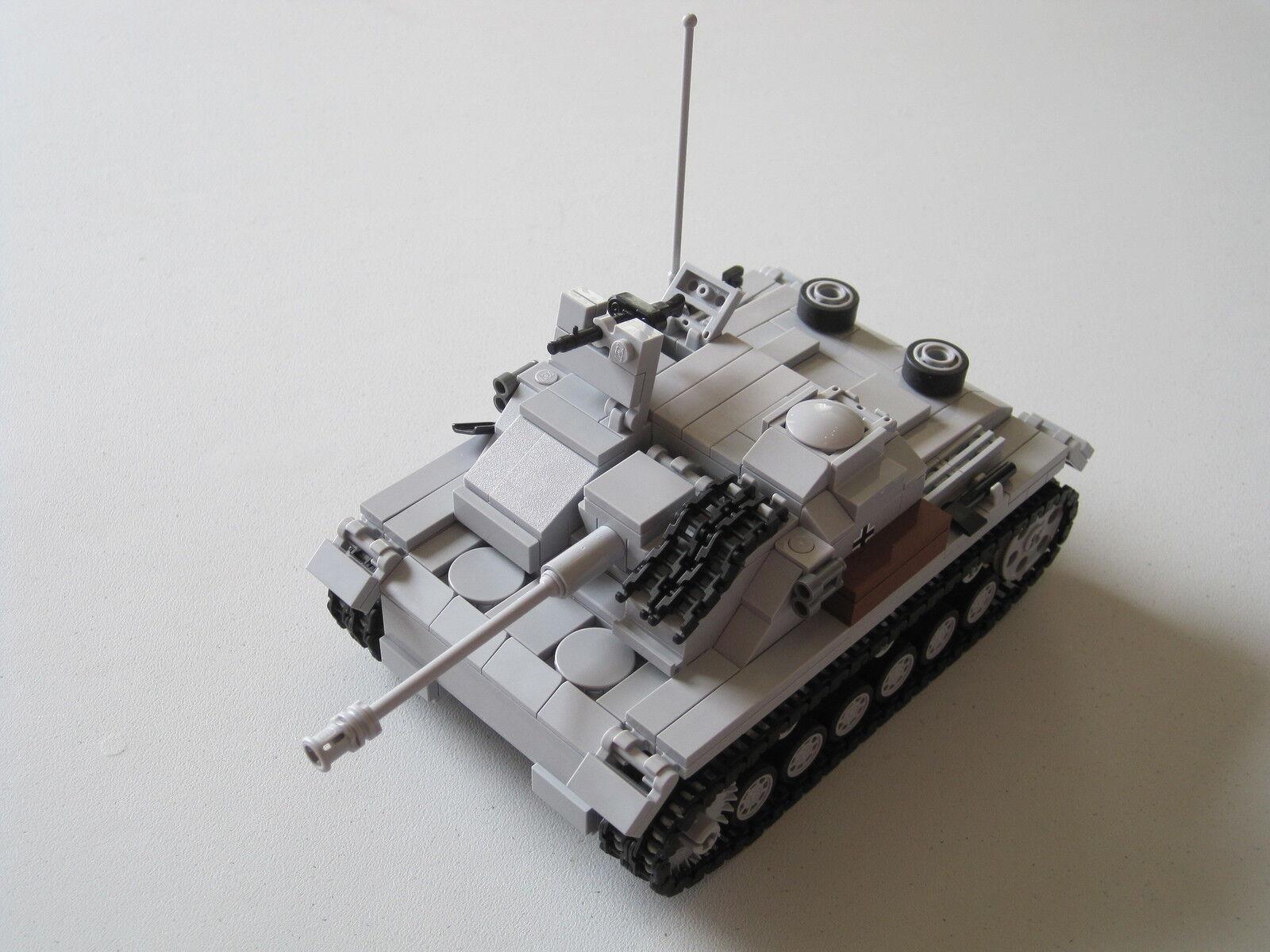 Lego WW2 GERMAN StuG III ausf. G TANK Artillery NEW
