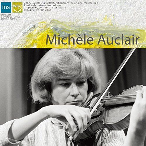 MICHELE AUCLAIR-BARTOK: RHAPSODY NO.1. ROMANIAN FOLK DANCES...-JAPAN LP X23