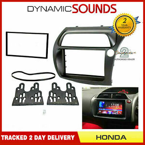 CT23HD11 Double Din Black Fascia Panel Adaptor For Honda Civic 2006-2011