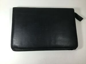 Vintage Leather Pen Carrying Case Holds 50 Pens