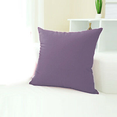 Hot Jelly Candy Colors Design Micro Suede Pillowcase Cushion Cover Home Office