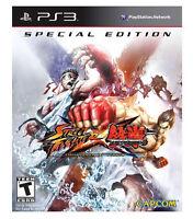 Street Fighter X Tekken -- Special Edition (Sony PlayStation 3, 2012)