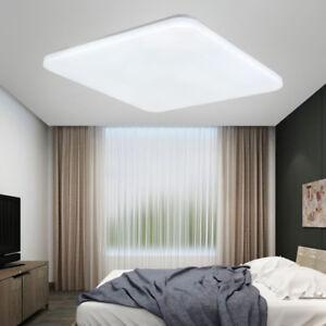 Eckig led deckenlampe 36w wandlampe k che wohnzimmer lampe kaltwei flurleuchte ebay - Wandlampe wohnzimmer ...