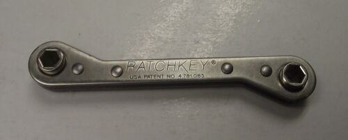 Ratchkey HC-13 5//16 Stainless Ratcheting Wrench USA BULK