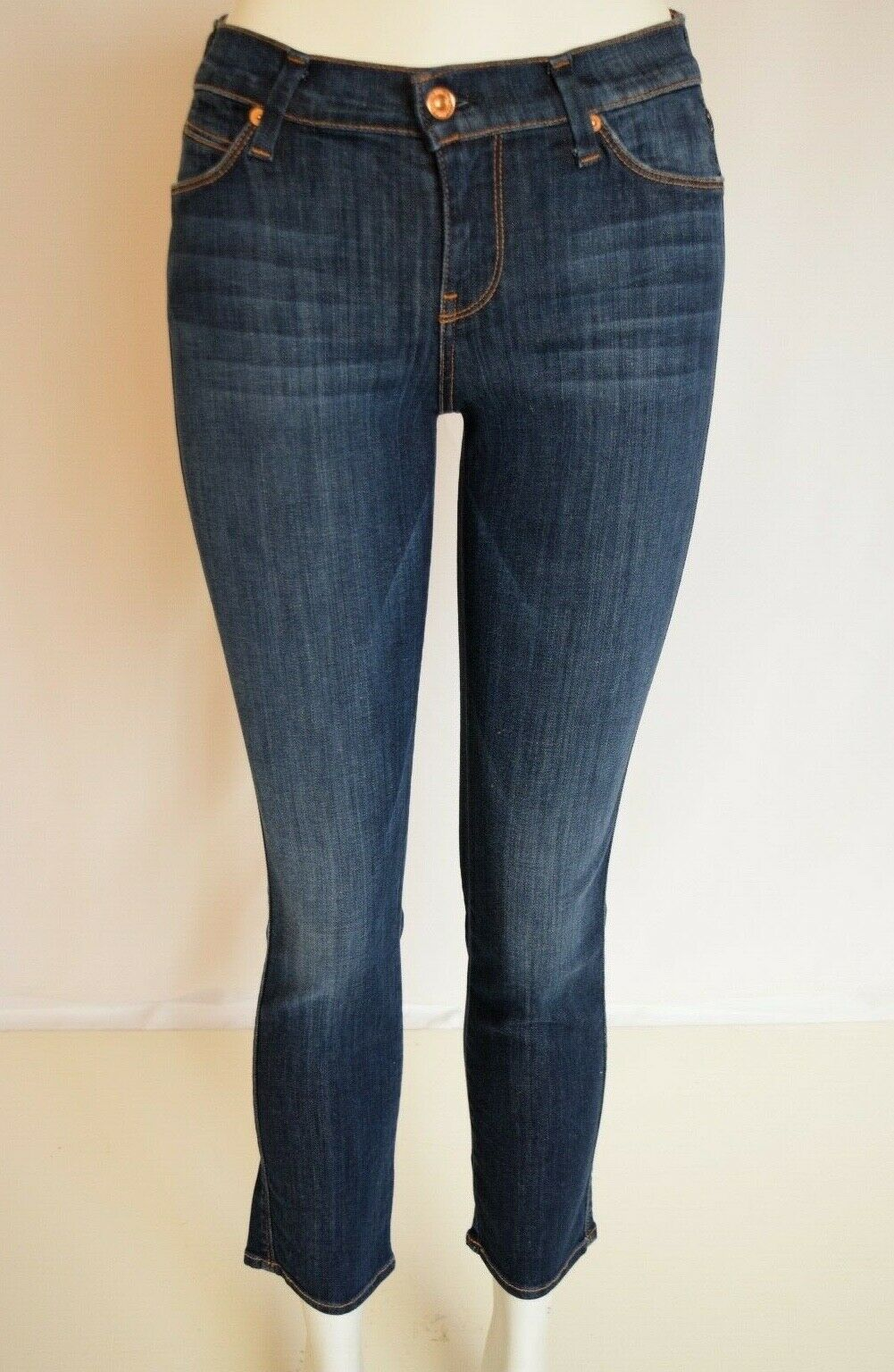 NEW Seven 7 For All Mankind SLIM STRAIGHT Jean Women 26 in SPRING NIGHT