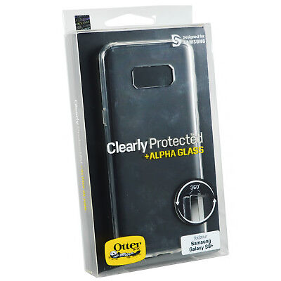 best website 1e974 43b2c Genuine OtterBox Clearly Case Cover Screen protector for Samsung Galaxy S8+  PLUS 5060475900385 | eBay