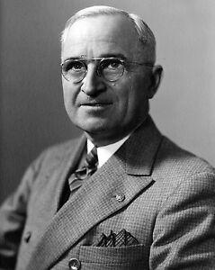 Portrait-of-33rd-US-President-Harry-S-Truman-1945-Photo-Print