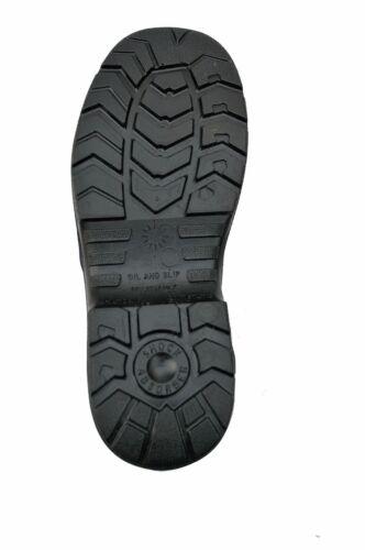 Bicap MA40121 metallfreie leichte Sicherheitsschuhe Arbeitsstiefel S3 SRC Leder