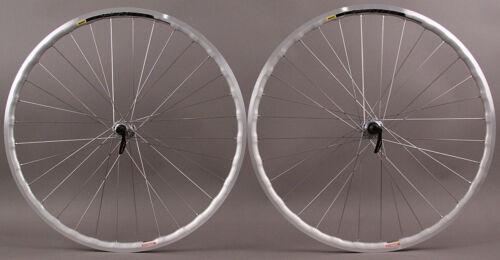 Mavic Open Pro Silver UST Shimano 5800 Hubs 32h Road Bike Tubeless Wheelset QR