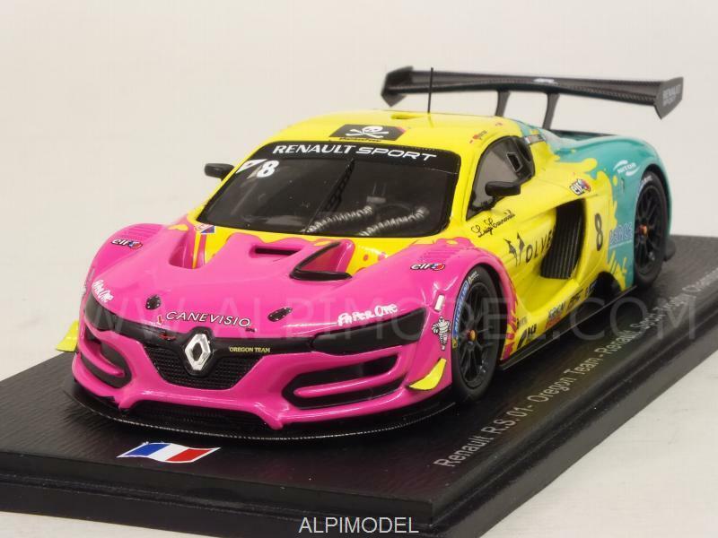 Renault R.S 01 Renault Sport Trophy Champion 2015 Fumanelli 1:43 SPARK SF102