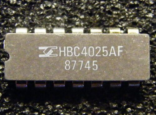 SGS-ATES 10x hbc4025af CMOS Triple 3-Input NOR Gate
