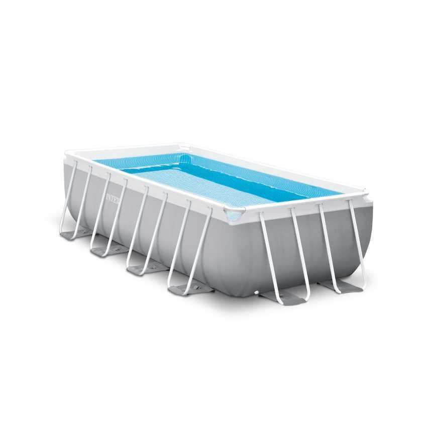 Intex 26792 Rectangular Frame Above Ground Swimming Pool 16'X 8' X 42'' 2019