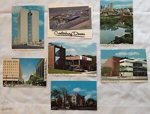 Lot-7-Postcards-Minneapolis-MN-Nicollet-Mall-Walker-Art-Center-Canterbury-Downs
