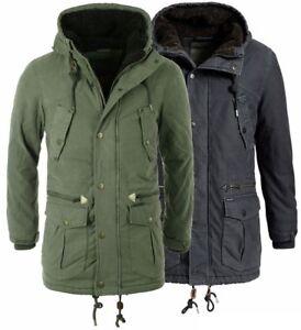 Warm Jacke Portil Herren Mantel Details Kapuze Khujo 2708co183 Winter Zu Parka Gefüttert PiuXkZ
