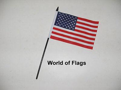"TEXAS SMALL HAND WAVING FLAG 6/""X4/"" flags USA AMERICAN AMERICA"