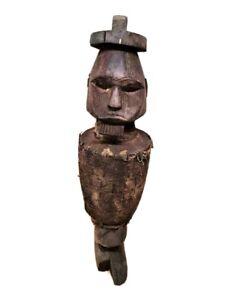 Africano in Legno Scolpito Figura Di Baule --- COSTA D'AVORIO FES-lega dei comunisti iugoslavi ABN