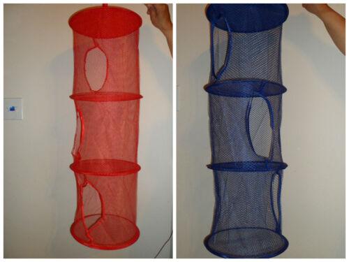 3 Layers Hanging Mesh Storage Toys Organizer 3 Tier