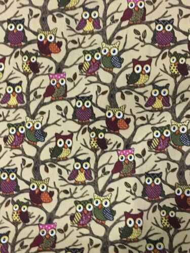 OWLS Fabric curtain Upholstery material For Sale In 3m Pieces