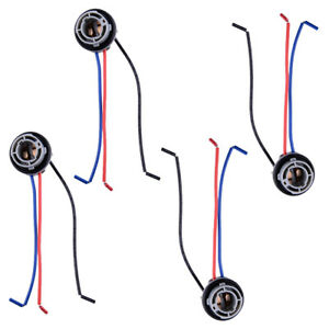 4x Signal Light Socket Harness Plug Adapter Fit For 1157 2057 2357 7528 Led Bulb Ebay