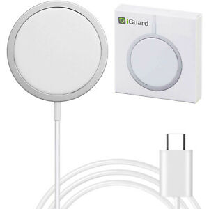 MagSafe-Charger-fuer-iPhone-12-Pro-Max-Mini-15W-magnetisches-Schnellladegeraet-Pad