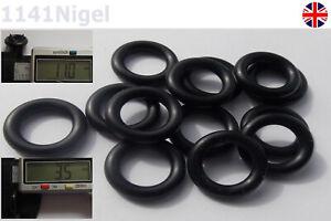 Nero 27/mm x 4/mm 35/mm od O-ring in gomma nitrile 70/a durezza Shore/ /scegliere Dimensioni confezione