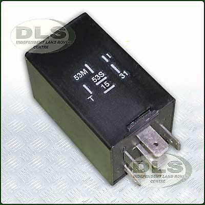 Wiper Delay Relay 12V Land Rover Defender`94on,RR.Classic`94 on LR057366