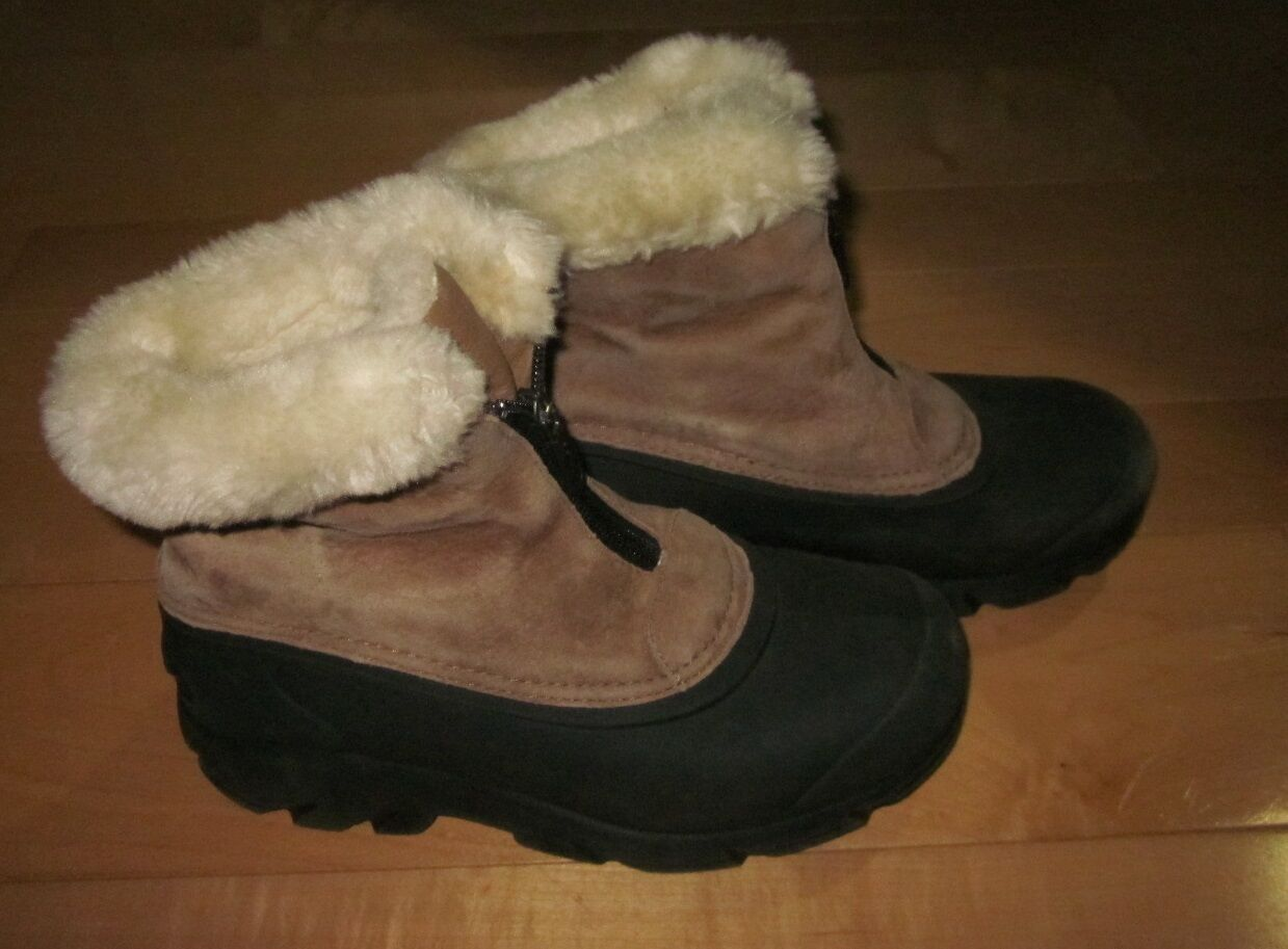 Sorel Wms Snow Angel Zip Snow Stiefel Sz 5